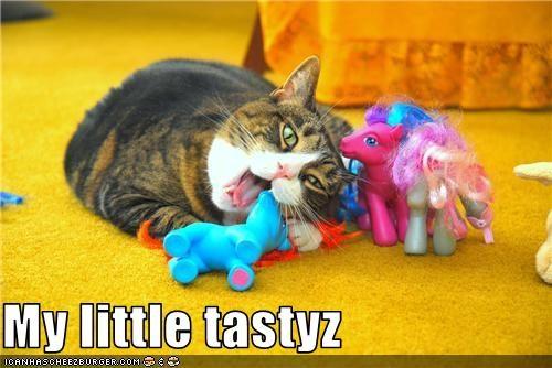 nom nom nom,ponies,toys