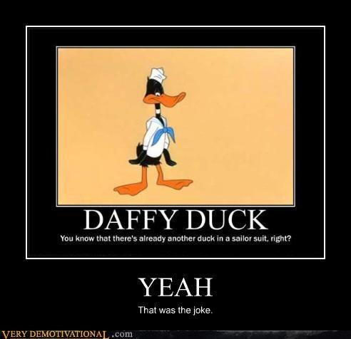 yeah daffy duck joke - 3526001664