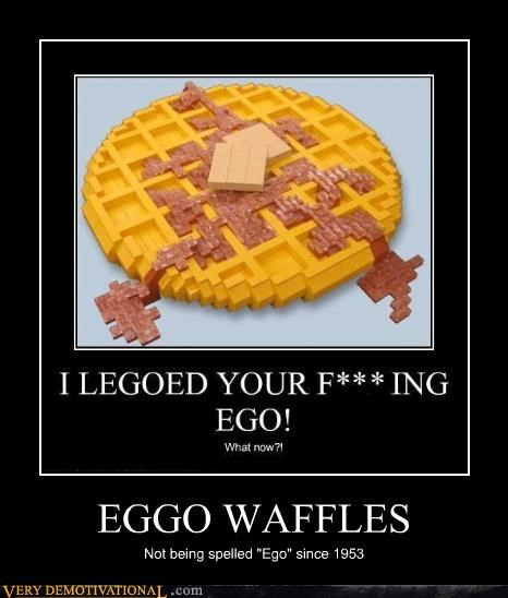 breakfast eggo waffles