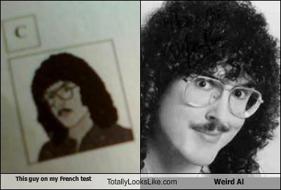 comedian drawing hair musician Weird Al Yankovic - 3526855168