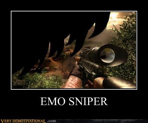 sniper cutting emo far cry video games - 3527453440