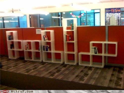 creativity in the workplace decoration designy ergonomics furniture hardware lolz not funny sorry sculpture shelves stupid tetris - 3530103808