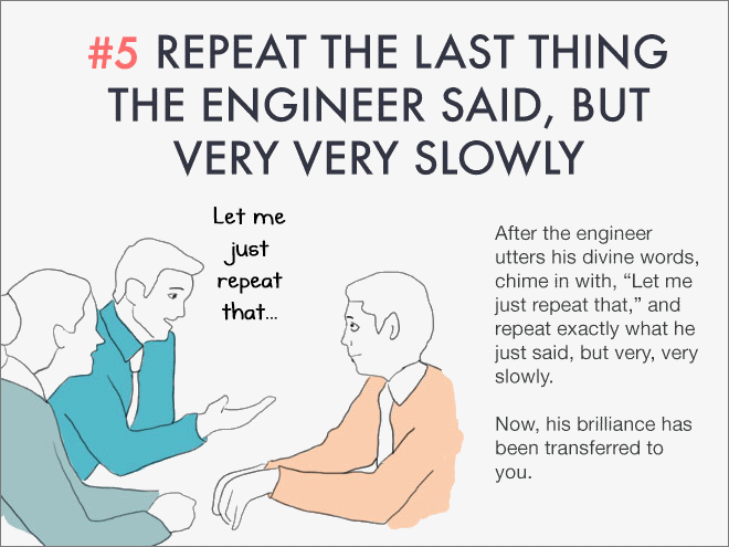 tricks that will help you look smart during work meetings