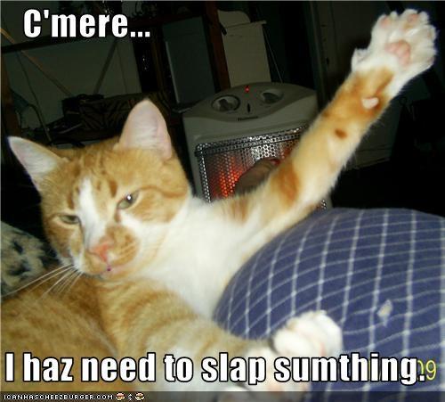 mean,slap