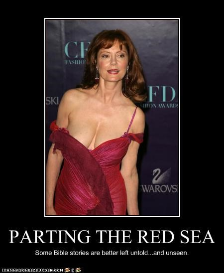 PARTING THE RED SEA Some Bible stories are better left untold...and unseen.