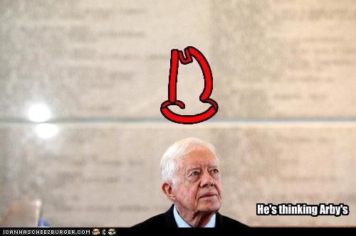 arbys,fast food,Jimmy Carter,president