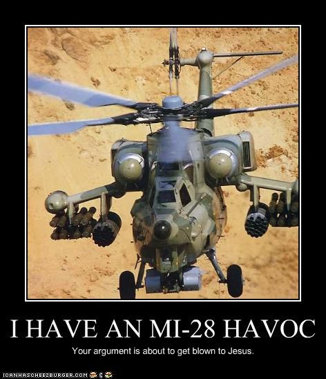 destruction helicopter mi-28 havoc war
