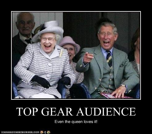 British,prince charles,Queen Elizabeth II,top gear,TV,UK