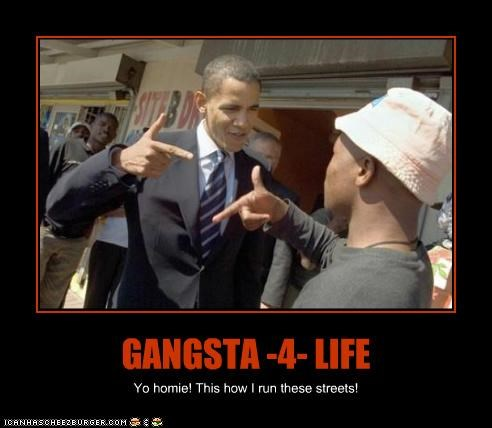 GANGSTA -4- LIFE Yo homie! This how I run these streets!