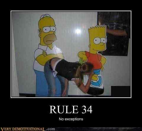 impossible IRL Rule 34 simpsons the internets threesome wtf - 3538616320