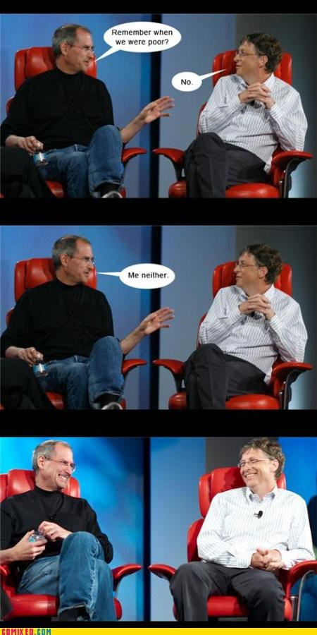 Bill Gates computers macs steve jobs the internets - 3539046400