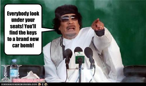 car bomb dictator libya muammar al-gaddafi Oprah Winfrey TV - 3541260032