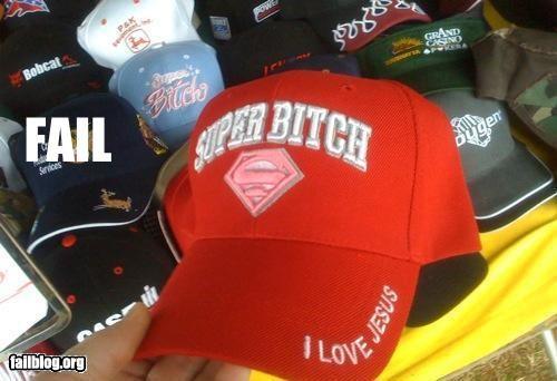 failboat hat jesus superwoman - 3541540608