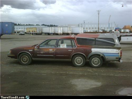 car cobbled together frankenstein mod not street legal - 3544060416