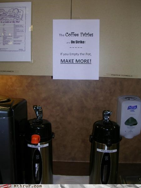 addiction awesome co-workers not basic instructions coffee cubicle rage dickhead co-workers fairy lazy office kitchen paper signs passive aggressive rage scabs screw you signage sloth socialism strike vacuum pots - 3544762880