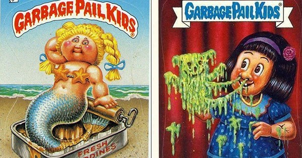lista Garbage Pail Kids