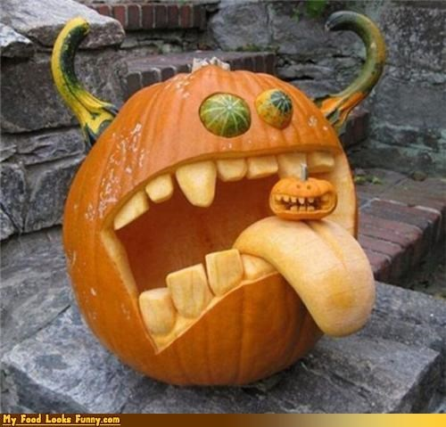 crazy,creepy,fruits-veggies,halloween,overlord,pumpkins,scary