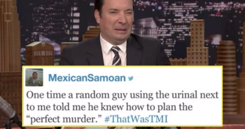 People share their cringiest, too much information stories on Jimmy Fallon.