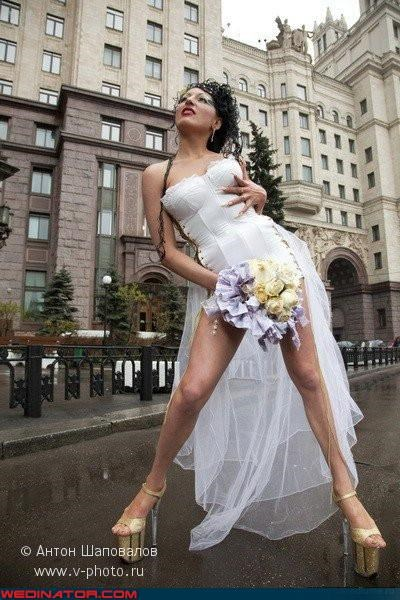 Bling corset Crazy Brides eww fashion is my passion heels long fingernails russian Russian bride scary slutty tacky upskirt wtf - 3548453376