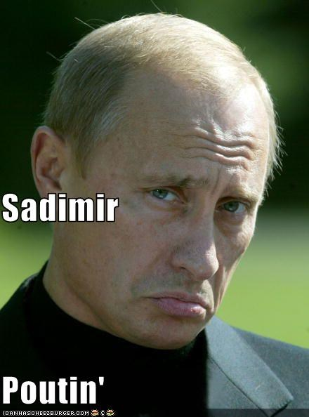 frown Hall of Fame name russia Sad Vladimir Putin vladurday