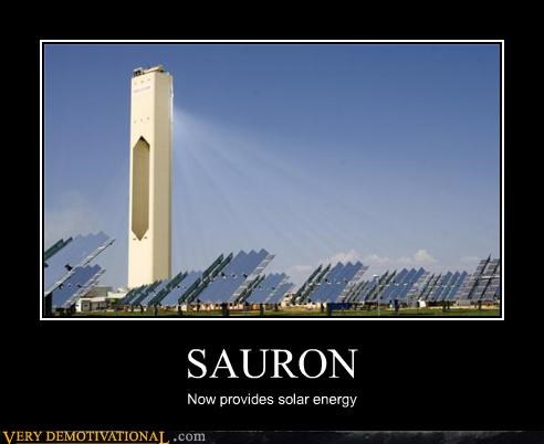SAURON Now provides solar energy