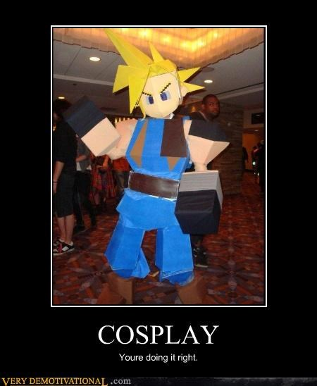 cosplay,cloud,final fantasy VII