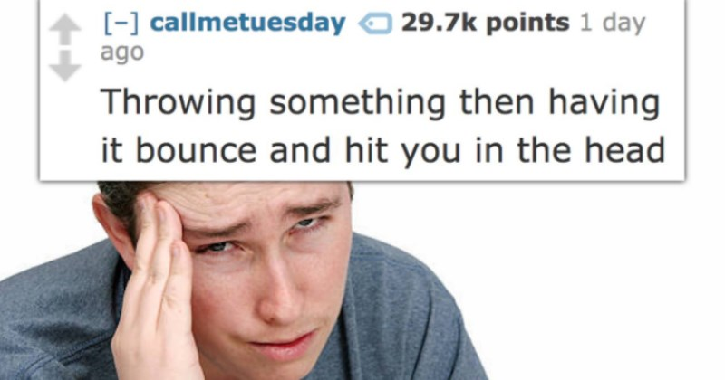 Things That Are Hilarious Unless They're Happening to You