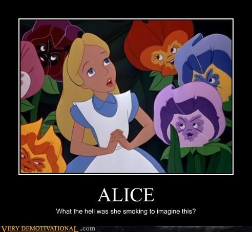 alice in wonderland smoking drug stuff - 3551112704