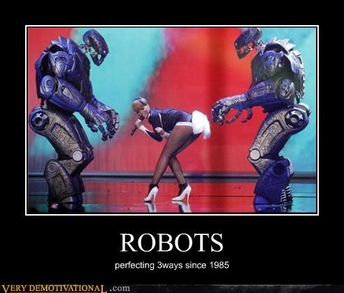 ROBOTS perfecting 3ways since 1985