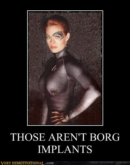 borg,implants,Star Trek,7 of 9