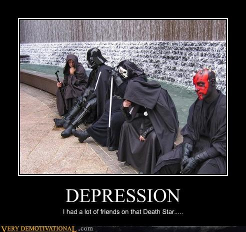 darth maul dead friends Death Star Sad sith star wars the dark side The Empire - 3554031360