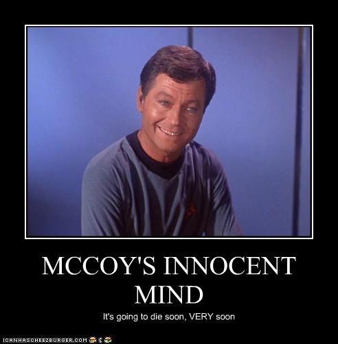 MCCOY'S INNOCENT MIND It's going to die soon, VERY soon