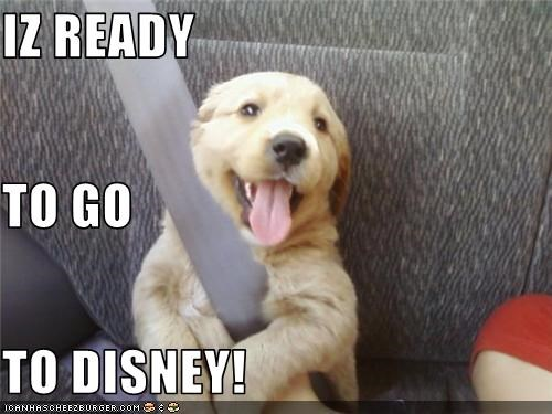 IZ READY TO GO TO DISNEY!