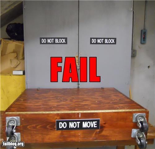 confusing do do not failboat placement signs - 3558336000