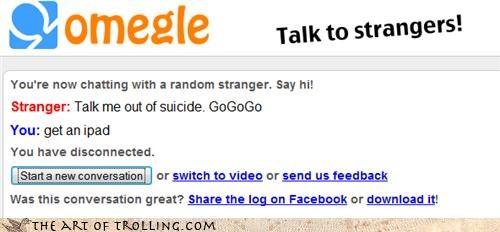ipad suicide