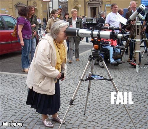 end failboat granny oops Telescope wrong - 3559540992