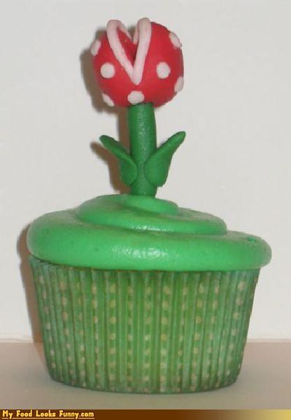 Flower mario NES Packun Flower pipe Piranha Plant Super Mario bros Sweet Treats video games - 3559729152
