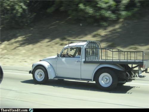 hauling,mod,truck,VW bug