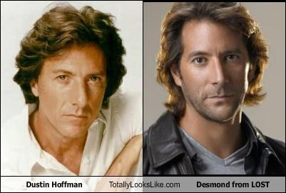 actors,Dustin Hoffman,henry ian cusick,lost,movies,TV