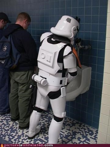 bathrooms how-else-would-they-do-it star wars stormtrooper wtf - 3564880896