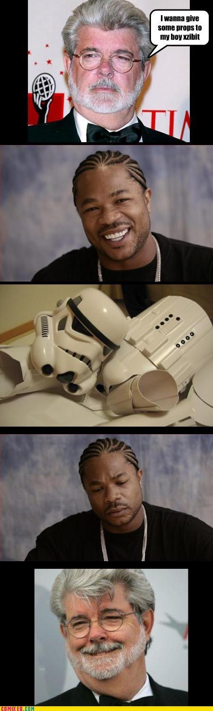 george lucas props puns star wars stormtrooper Xxzibit xzhibit - 3566084864