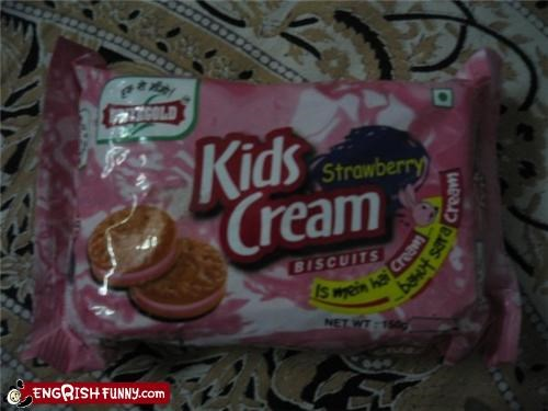 cookies cream food inappropriate kids Unknown
