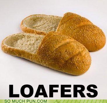bread fashion puns shoes wtf - 3566392064