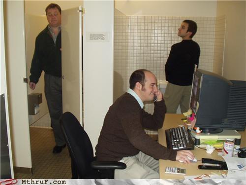 awful bathroom cubicle rage depressing ergonomics gross intern prank pwned rage Sad screw you stinky toilets tragic - 3566682112