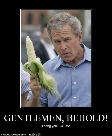 food george w bush president Republicans silly - 3567760640
