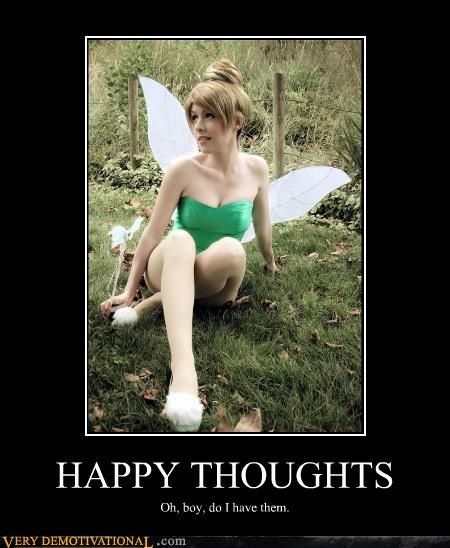 babe cosplay disney happy thoughts Pure Awesome tinkerbell - 3567846400