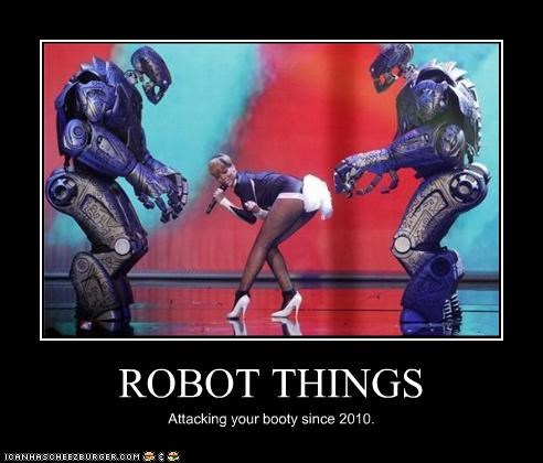 ROBOT THINGS Attacking your booty since 2010.