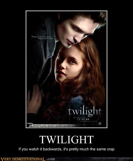 backwards bella criticism edward cullen idiots twilight - 3569456640