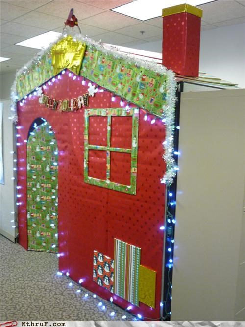 Elf House over my Cube