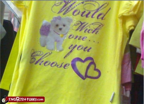 dogs engrish tshirt